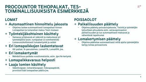 Accountor Finago webinaaritallenne: Procountor Tehopalkat – Tehokkuutta palkanlaskentaan!