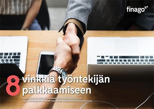 Accountor Finago opas: 8 vinkkiä työntekijän palkkaamiseen