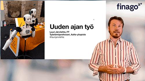 Accountor Finago webinaaritallenne: Uuden ajan työ