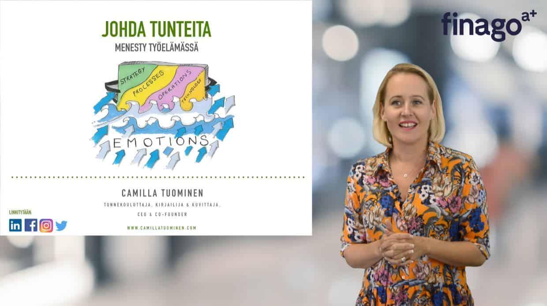 Accountor Finago webinaaritallenne: Tunnekouluttaja Camilla Tuominen – Nopeasti tunteiden johtamisesta