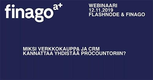 Accountor Finago webinaaritallenne: Flashnoden Procountor-integraatiot