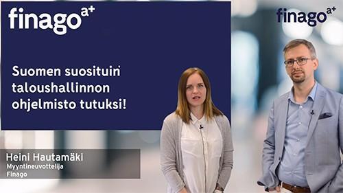 Accountor Finago webinaaritallenne: Suomen suosituin taloushallinnon ohjelmisto tutuksi!