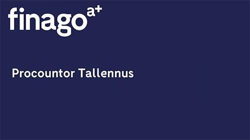 Accountor Finago webinaaritallenne: Procountor Tallennus ohjelmistoesittely