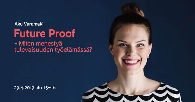 Accountor Finago webinaaritallenne: Future Proof – Miten menestyä tulevaisuuden työelämässä?