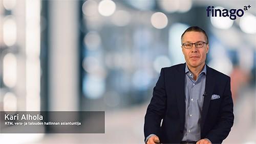 Accountor Finago webinaaritallenne: Verotuksen ajankohtaiset 2019