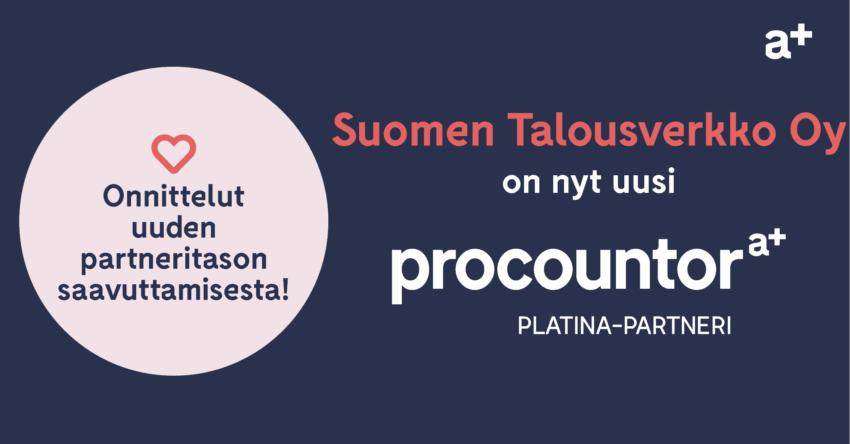 Procountor Platina-partneri: Suomen Talousverkko Oy